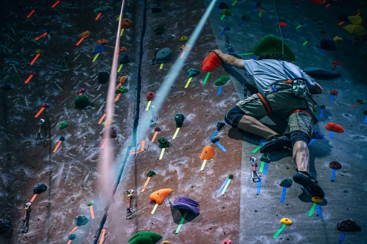 Why climbing is a greatexercise